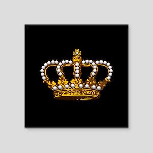 Royal Wedding Crown Sticker