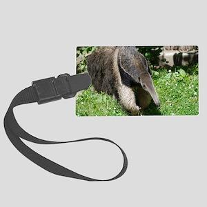 Giant Anteater Large Luggage Tag