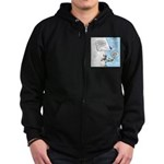 Pick Your Nose Zip Hoodie (dark)