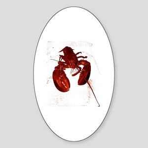 Lobstah Series-1 Sticker (Oval)
