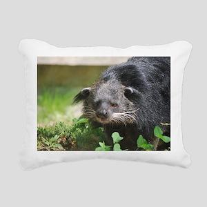 Cute Binturong Rectangular Canvas Pillow