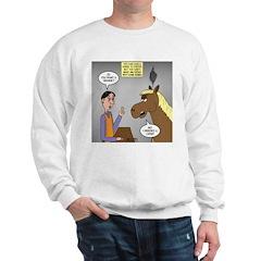 Horse Coffee Sweatshirt