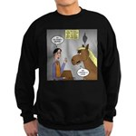 Horse Coffee Sweatshirt (dark)
