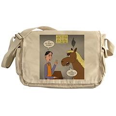 Horse Coffee Messenger Bag