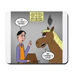 Horse Coffee Mousepad