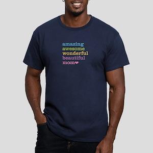Amazing Mom Men's Fitted T-Shirt (dark)
