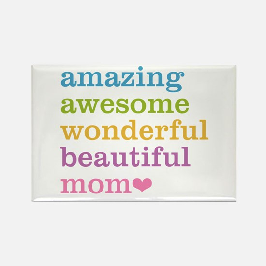 Amazing Mom Rectangle Magnet (100 pack)