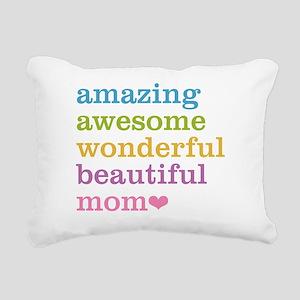 Amazing Mom Rectangular Canvas Pillow