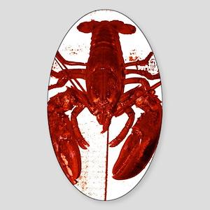 Lobstah Series-5 Sticker (Oval)