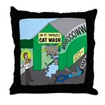 DIY Cat Wash Throw Pillow