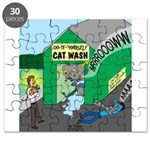 DIY Cat Wash Puzzle