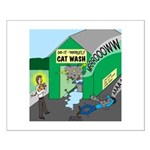 DIY Cat Wash Small Poster