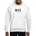 Hfd Grey/pink Hoodie Hooded Sweatshirt