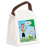 Tinkles Mistake Canvas Lunch Bag