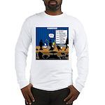 Robot Graduation Long Sleeve T-Shirt