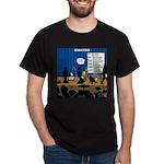 Robot Graduation Dark T-Shirt