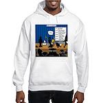Robot Graduation Hooded Sweatshirt