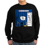 Robot Graduation Sweatshirt (dark)