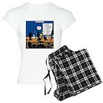 Robot Graduation Women's Light Pajamas