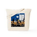 Robot Graduation Tote Bag