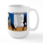 Robot Graduation Large Mug