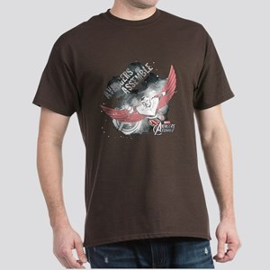 Falcon Watercolor Dark T-Shirt