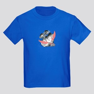 Falcon Watercolor Kids Dark T-Shirt