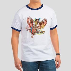 Falcon Ethnic Mix Ringer T