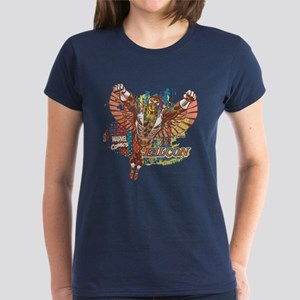 Falcon Ethnic Mix Women's Dark T-Shirt