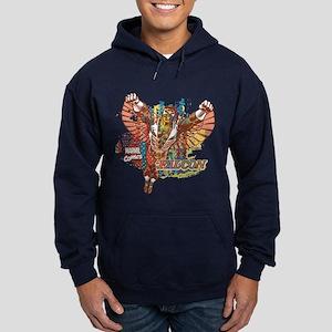 Falcon Ethnic Mix Hoodie (dark)