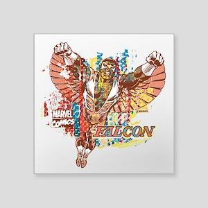 """Falcon Ethnic Mix Square Sticker 3"""" x 3"""""""