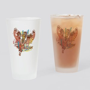 Falcon Ethnic Mix Drinking Glass