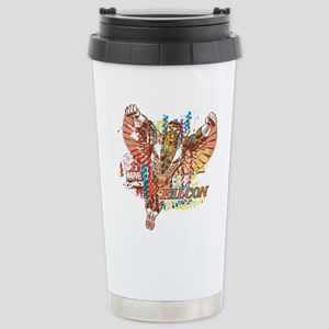 Falcon Ethnic Mix Stainless Steel Travel Mug