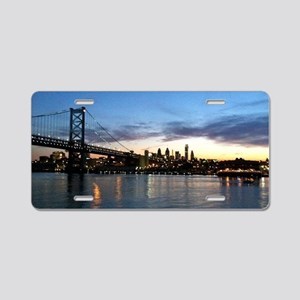 Philadelphia Night Aluminum License Plate
