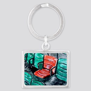 Red Sox Red Seat Landscape Keychain