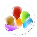Celebrate Life Round Car Magnet