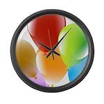 Celebrate Life Large Wall Clock