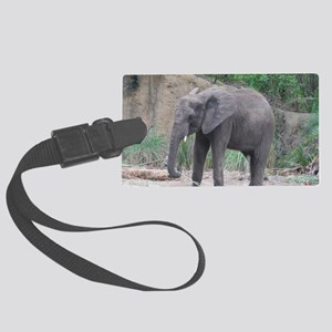 Young Elephant Large Luggage Tag