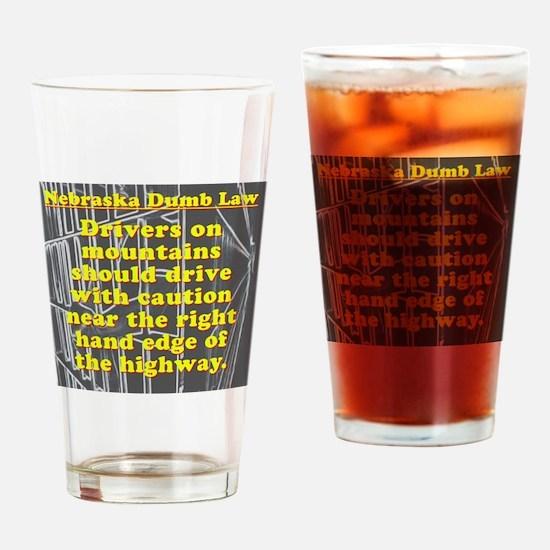 Nebraska Dumb Law 001 Drinking Glass