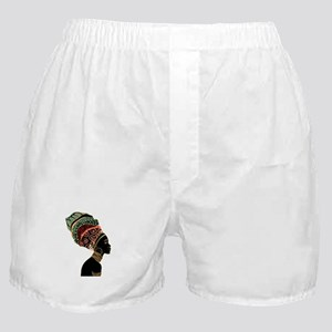 African Woman Boxer Shorts