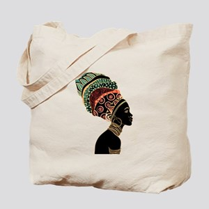 African Woman Tote Bag