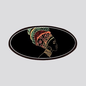 African Woman Patches