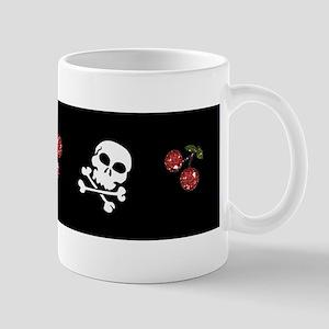 Skulls and Cherries Mugs