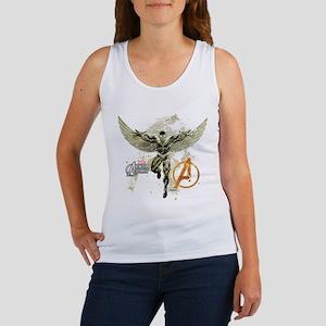 Falcon Grunge Women's Tank Top