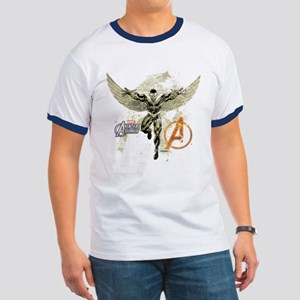 Falcon Grunge Ringer T