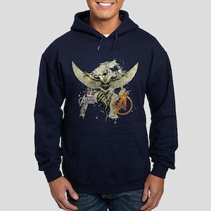 Falcon Grunge Hoodie (dark)