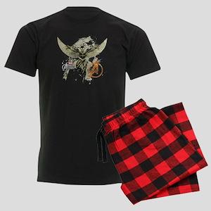 Falcon Grunge Men's Dark Pajamas