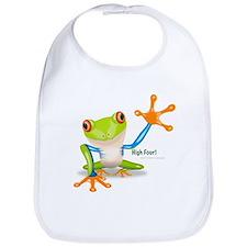 Freddie Frog Bib