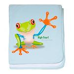 Freddie Frog baby blanket