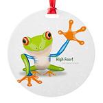 Freddie Frog Ornament